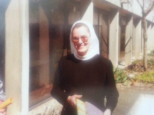 Amata Bayerl als Nonne im Kloster